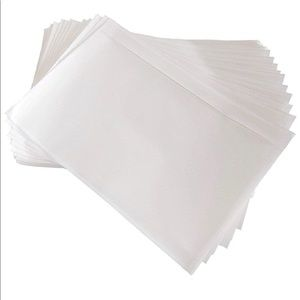 Packing List Pouches, Clear Adhesive